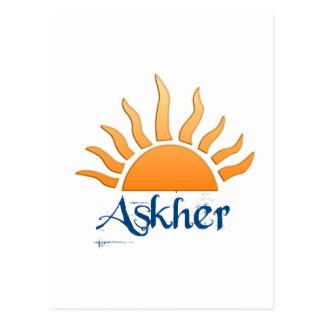 Askher Postcard
