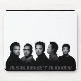 Asking Andy Custom Mouse Pad