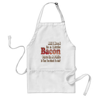 Asking for Bacon Adult Apron