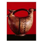 Askos de Etruscan en la forma de un pato Tarjetas Postales