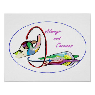 ASL Always and Forever Poster