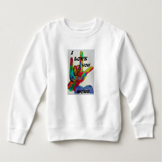 ASL American Sign Language I LOVE YOU MORE T-shirt