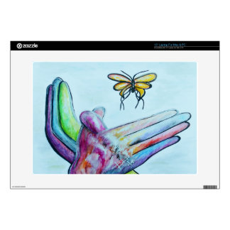 ASL Butterfly Laptop Decals