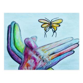 ASL Butterfly Postcard