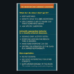 """ASL Classroom guidelines.  poster<br><div class=""""desc"""">These guidelines have been hanging in my wife&#39;s ASL Classroom for years. Now you can put them in yours. Text reads: WHAT DO I DO WHEN I DON'T GET IT? - KEEP WATCHING. - USE CONTEXT CLUES TO FIGURE OUT WHAT SOMETHING MEANS. - ASK SPECIFIC QUESTIONS CULTURALLY APPROPRIATE BEHAVIOR IN...</div>"""