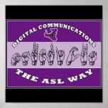 ASL DIGITAL COMMUNICATIONS -MAVERICKS POSTER