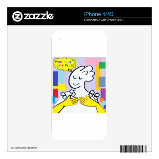 ASL Find Your Happy Place Skin For The iPhone 4S