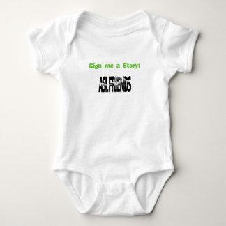 ASL FRIENDS LOGO, Sign me a Story: Baby Bodysuit