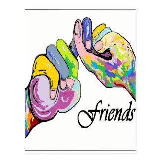 ASL Friends Postcard