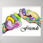 ASL Friends Poster
