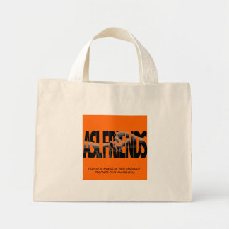 ASL FRIENDS TOTE  TO PROMOTE - Customized Bags