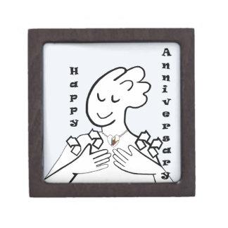 ASL Happy Anniversary Jewelry Box