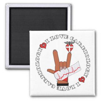 ASL I Love Sign CARDIOLOGY Refrigerator Magnet