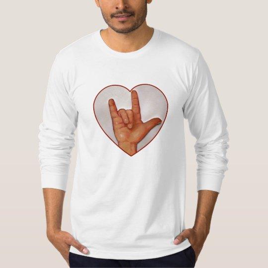 ASL: I LOVE YOU: SIGN LANGUAGE T-Shirt