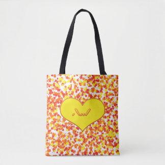 ASL-I Love You Tote Bag