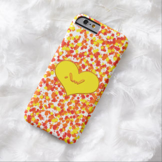 ASL-I Love You with Heart by Shirley Taylor Barely There iPhone 6 Case
