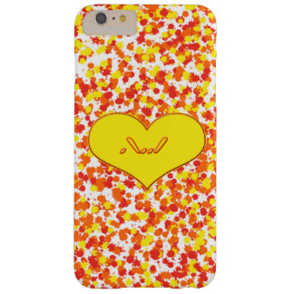 ASL-I Love You with Heart by Shirley Taylor Barely There iPhone 6 Plus Case