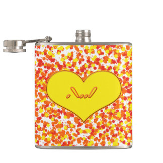 ASL-I Love You With Heart by Shirley Taylor Flask