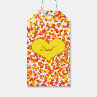 ASL-I Love You with Heart by Shirley Taylor Gift Tags