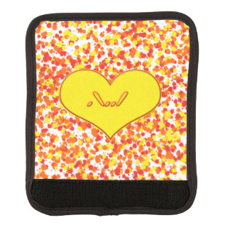ASL-I Love You with Heart by Shirley Taylor Handle Wrap