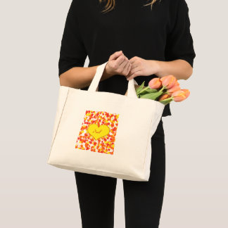 ASL-I Love You with Heart by Shirley Taylor Mini Tote Bag
