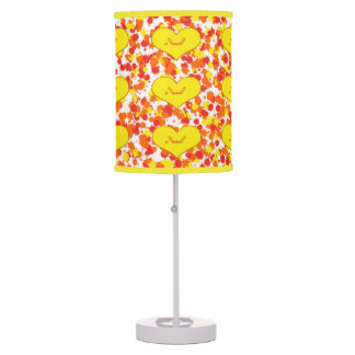 ASL-I Love You with Heart by Shirley Taylor Table Lamp