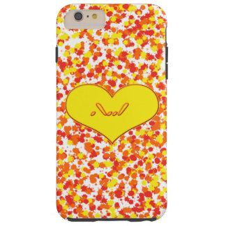 ASL-I Love You with Heart by Shirley Taylor Tough iPhone 6 Plus Case