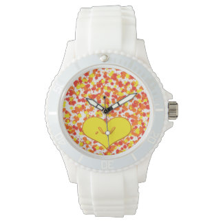 ASL-I Love You with Heart by Shirley Taylor Wrist Watch