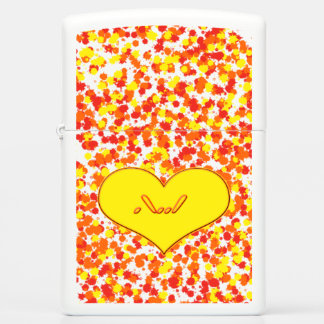ASL-I Love You With Heart by Shirley Taylor Zippo Lighter