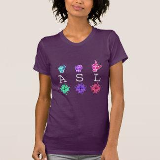 ASL & ILY FLOWERS T-Shirt