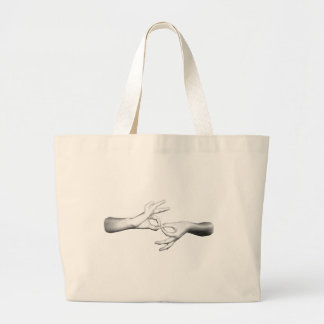 ASL Interpreter (3) Jumbo Tote Bag