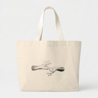 ASL Interpreter (3) Large Tote Bag