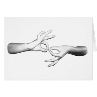 ASL Interpreter Greeting Card
