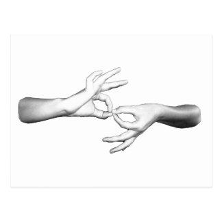 ASL Interpreter Postcard