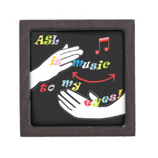 ASL is Music to My EYES! Gift Box