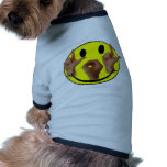 ASL LOL SMILEY FACE DOG TEE