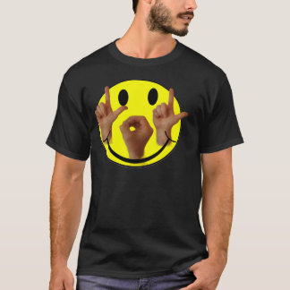 ASL LOL SMILEY FACE T-Shirt