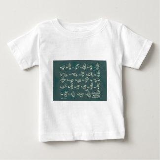 ASL Manual Alphabet Baby T-Shirt