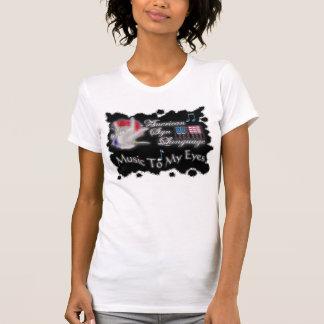 asl MUSIC to MY eyes T-Shirt
