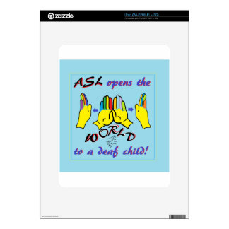 ASL Opens the World Skin For iPad