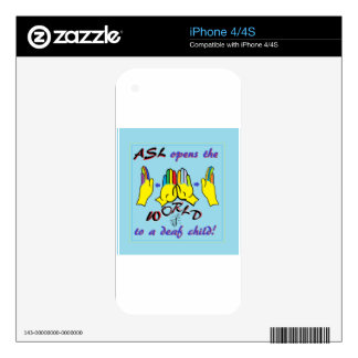 ASL Opens the World Skin For iPhone 4S