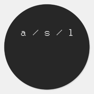 ASL PEGATINAS