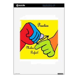 ASL PRACTICE iPad 2 SKINS