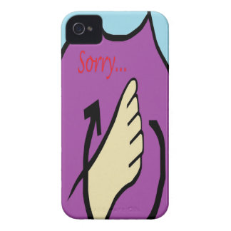 ASL Sorry iPhone 4 Case-Mate Case