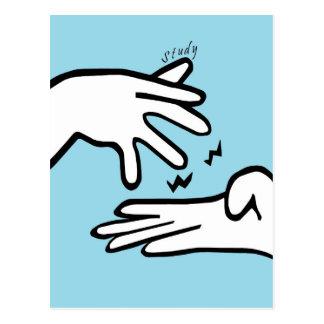 ASL Study Postcard
