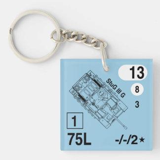 ASL StuG IIIG Keychain Fob