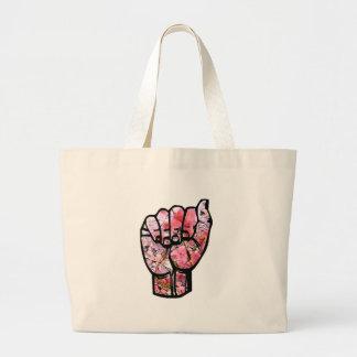 ASL un bolso Bolsa De Mano