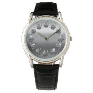 ASL - V2 inoxidable Reloj De Mano
