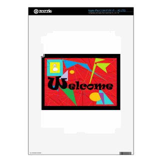 ASL WELCOME iPad 3 DECAL