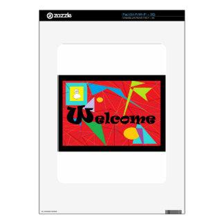 ASL WELCOME iPad SKIN